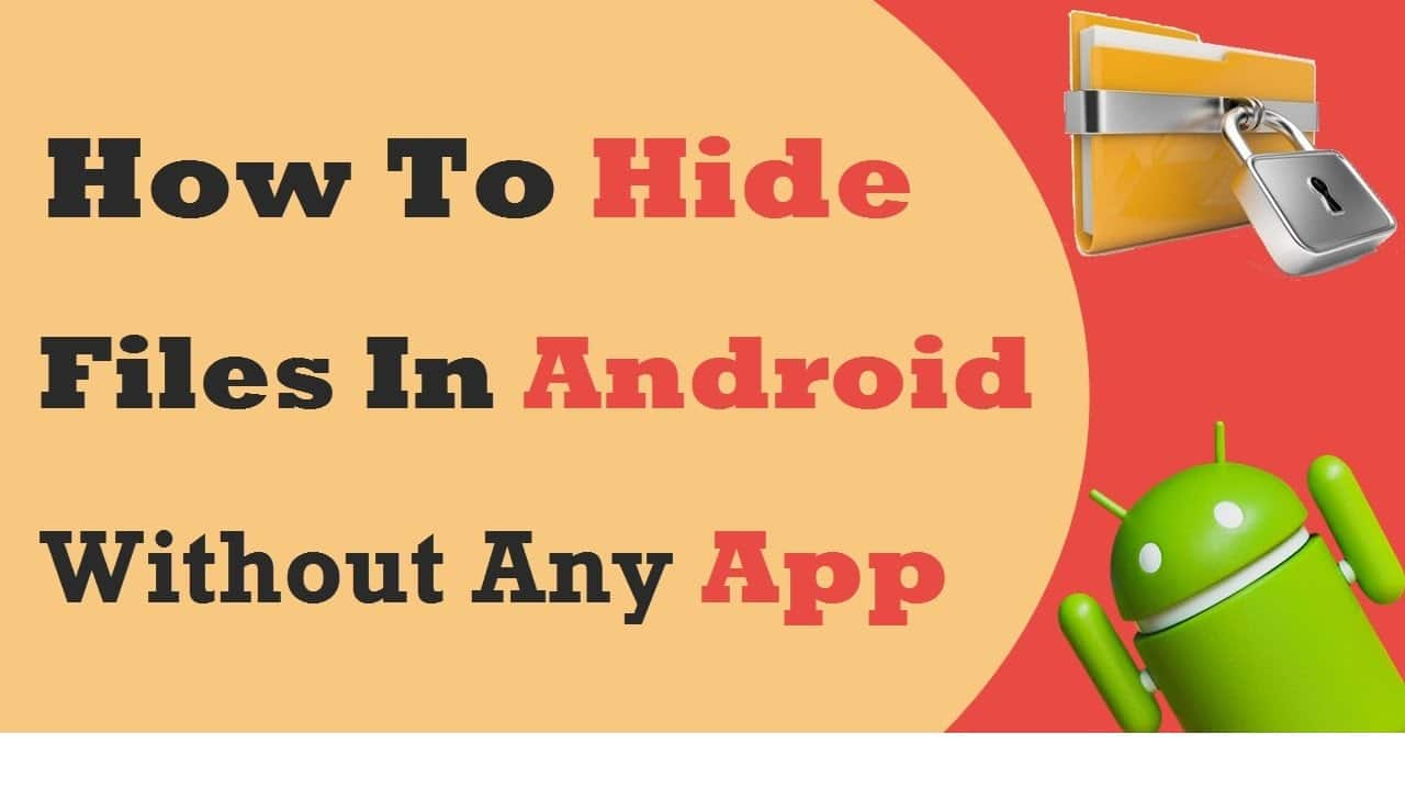 How to Hide Photos on Android without App