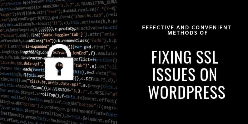 Fix Common SSL Issues in WordPress