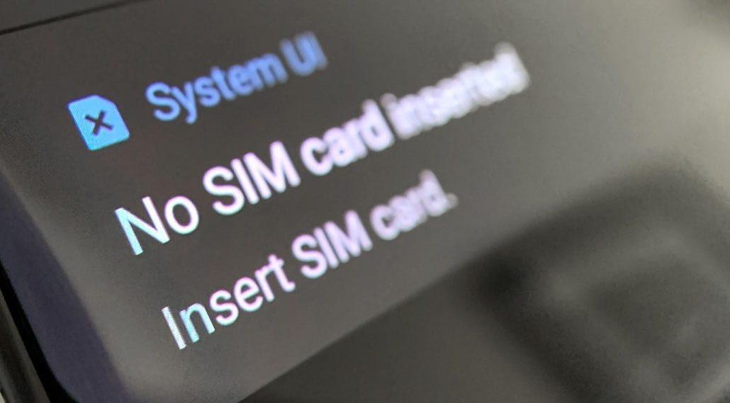 HOW TO FIX NO SIM CARD ERROR IN Samsung Galaxy Tab E 9.6  Samsung Xcover 550 phone.  Jul